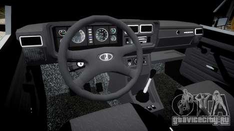 ВАЗ-2107 для GTA 4 вид изнутри