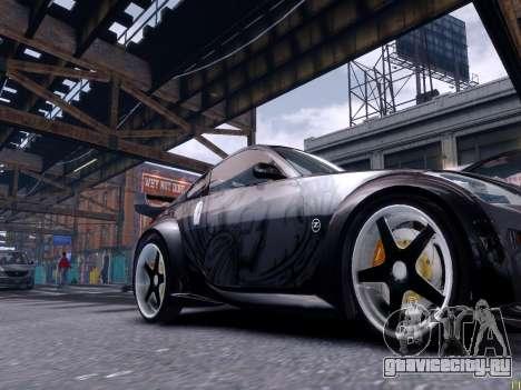 Nissan 350Z Tokyo Drift для GTA 4 вид сбоку