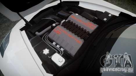 Chevrolet Corvette C7 Stingray 2014 v2.0 TireGY для GTA 4 вид сбоку