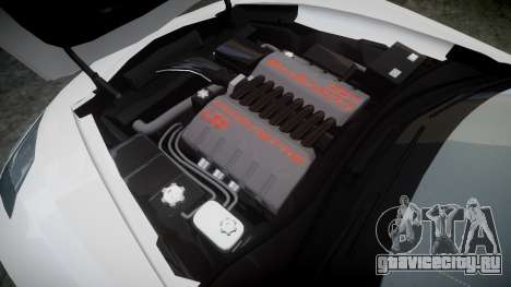 Chevrolet Corvette C7 Stingray 2014 v2.0 TirePi1 для GTA 4 вид сбоку