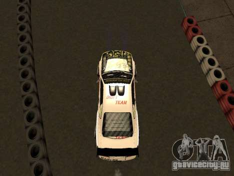 Nissan Silvia S15 VCDT для GTA San Andreas вид изнутри