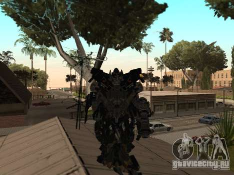 Transformers 3 Dark of the Moon Skin Pack для GTA San Andreas третий скриншот