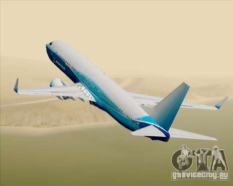 Boeing 737-800 House Colors для GTA San Andreas