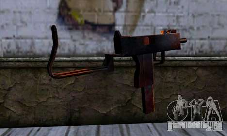 Micro Uzi v2 Ржаво-кровавая для GTA San Andreas второй скриншот