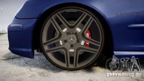 Mercedes-Benz W220 S65 AMG для GTA 4 вид сзади