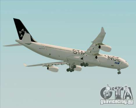 Airbus A340-300 All Nippon Airways (ANA) для GTA San Andreas вид справа
