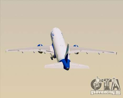 Airbus A320-200 IndiGo для GTA San Andreas
