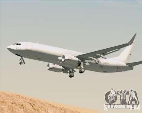 Boeing P-8 Poseidon US Navy для GTA San Andreas вид сзади