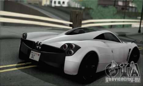 Pagani Huayra TT Ultimate Edition для GTA San Andreas вид слева