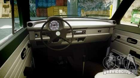Volkswagen Beetle для GTA 4 вид сзади