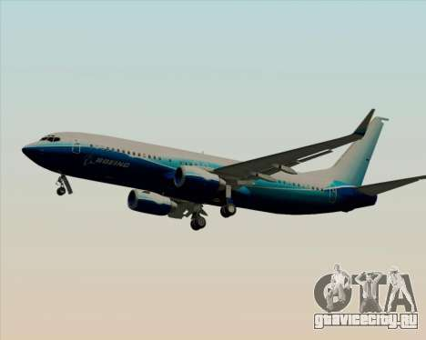 Boeing 737-800 House Colors для GTA San Andreas колёса