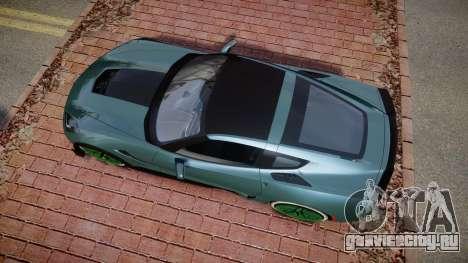 Chevrolet Corvette Z06 2015 TireKHU для GTA 4 вид справа