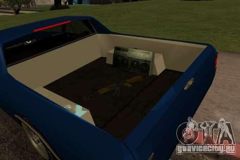 New picador для GTA San Andreas вид сзади