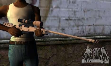 L11A3 Sniper Rifle для GTA San Andreas третий скриншот