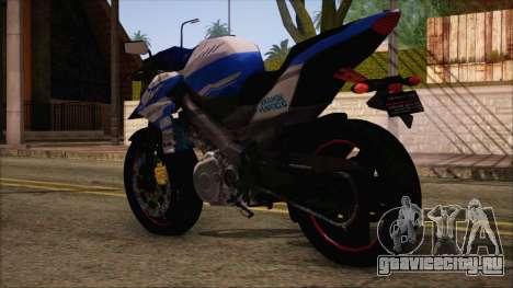 Yamaha V-Ixion GP Series для GTA San Andreas вид слева