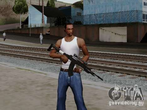 Heavy Sniper Rifle from GTA V для GTA San Andreas