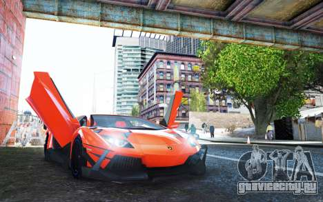 Lamborghini Aventador TZR R-Tech для GTA 4