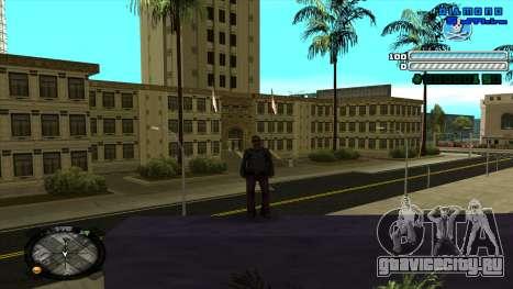 C-HUD Respect для GTA San Andreas второй скриншот