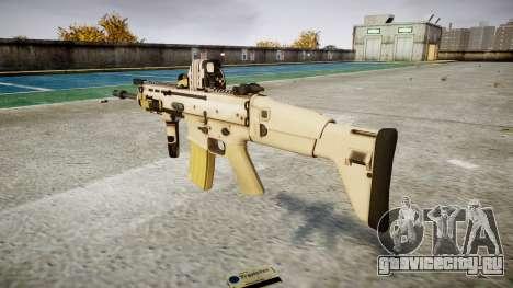 Автомат FN SCAR-L Mk 16 target icon1 для GTA 4 второй скриншот