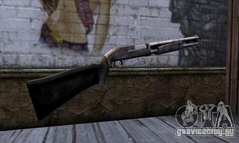 Chromegun v2 Обычный для GTA San Andreas второй скриншот