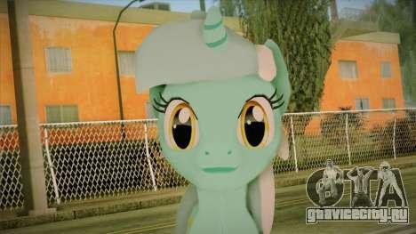 Lyra from My Little Pony для GTA San Andreas третий скриншот