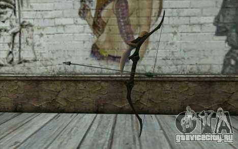 Green Arrow Bow v3 для GTA San Andreas
