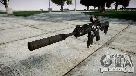 Автомат P416 ACOG silencer PJ3 target для GTA 4