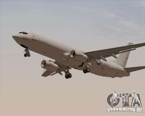 Boeing P-8 Poseidon US Navy для GTA San Andreas вид сверху