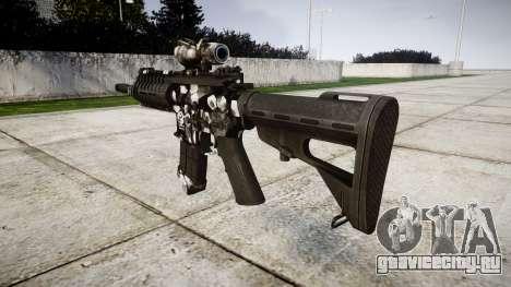 Автомат P416 ACOG PJ3 target для GTA 4 второй скриншот