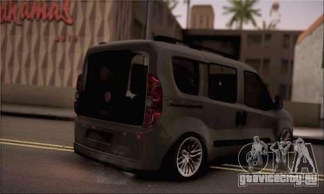 Fiat Doblo 2010 для GTA San Andreas вид слева