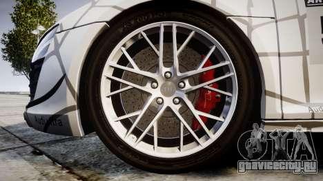 Audi R8 LMX 2015 [EPM] Cobweb для GTA 4 вид сзади
