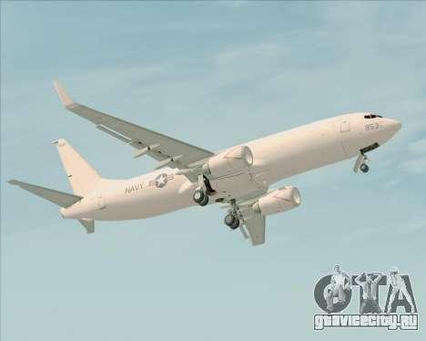 Boeing P-8 Poseidon US Navy для GTA San Andreas вид снизу