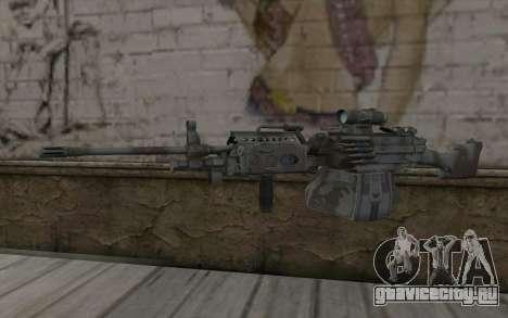 Minigun MK48 для GTA San Andreas