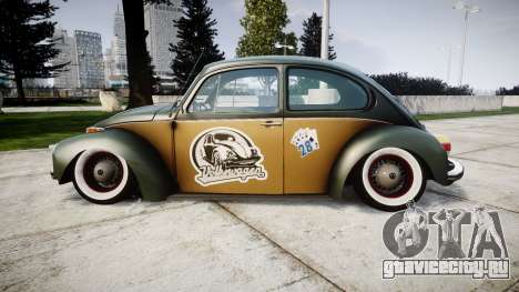 Volkswagen Beetle для GTA 4 вид слева