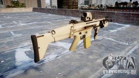 Автомат FN SCAR-L Mk 16 icon1 для GTA 4 второй скриншот