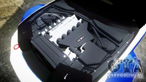 BMW M3 E46 GTR Most Wanted plate NFS ND 4 SPD для GTA 4 вид сбоку
