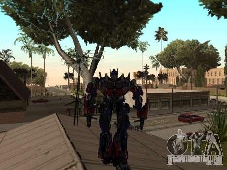 Transformers 3 Dark of the Moon Skin Pack для GTA San Andreas второй скриншот