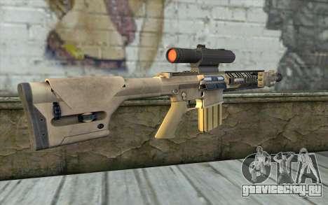 M110 Cuarter Combat Rifle для GTA San Andreas второй скриншот