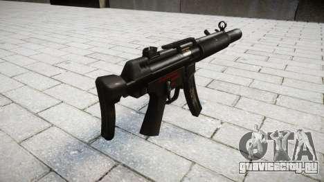 Пистолет-пулемёт MP5SD RO CS для GTA 4 второй скриншот