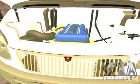 Газель Эвакуатор 33023 Beta v1.2 для GTA San Andreas вид сзади