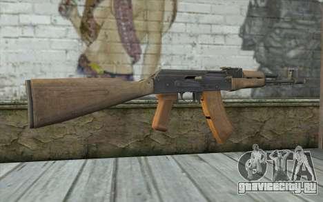 AK-74 Standart для GTA San Andreas второй скриншот
