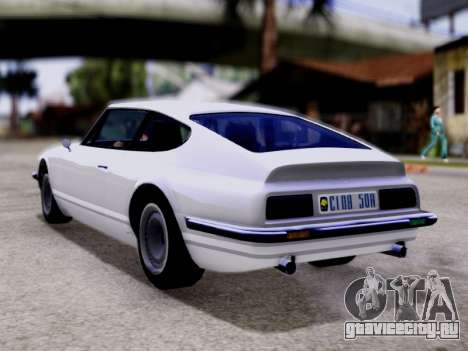 Lampadati Pigalle GTA V для GTA San Andreas вид слева