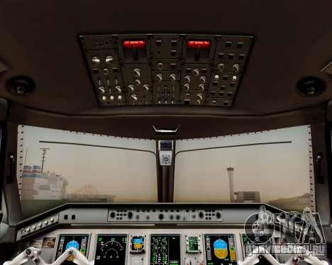 Embraer E-190 Air Canada для GTA San Andreas двигатель