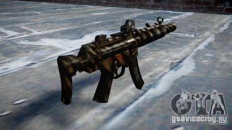 Пистолет-пулемёт MP5SD DRS CS c target для GTA 4 второй скриншот