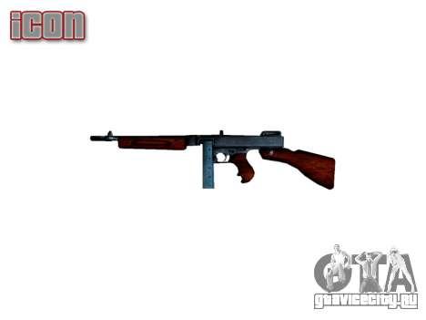 Пистолет-пулемёт Thompson M1A1 box icon2 для GTA 4 третий скриншот