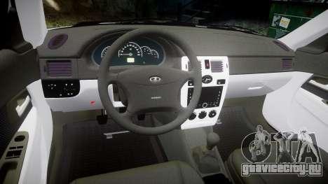 ВАЗ-2170 high quality для GTA 4 вид изнутри