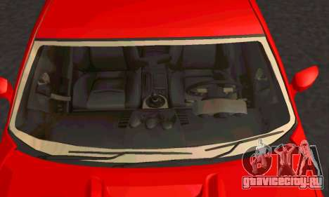 Nissan 350Z Tune для GTA San Andreas вид сзади