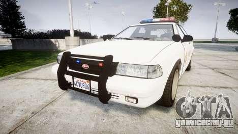 GTA V Vapid Police Cruiser Rotor [ELS] для GTA 4