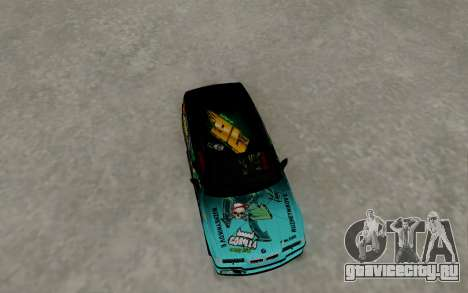 BMW M3 E36 Gorilla Energy Team для GTA San Andreas вид справа