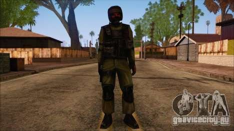 Urban from Counter Strike Condition Zero для GTA San Andreas